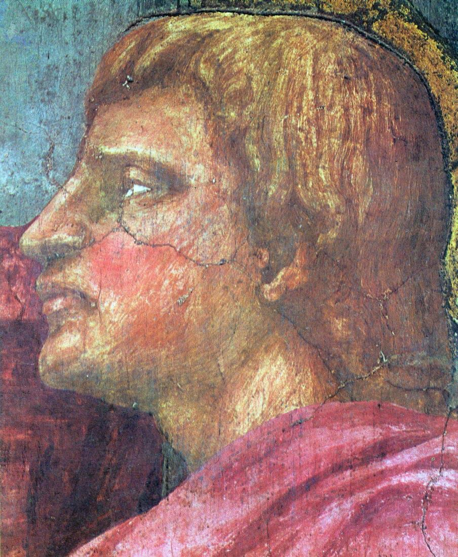 The Trinity Detail [4] - Masaccio